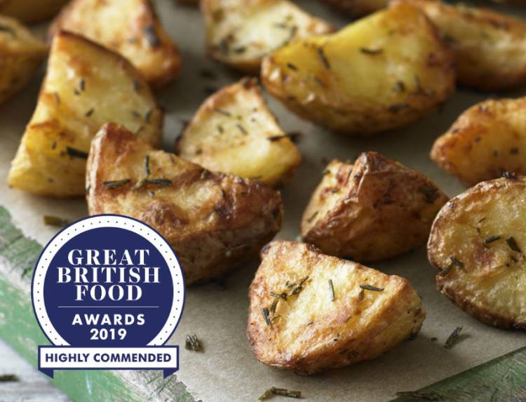 Our Garlic & Rosemary Roasts are highly commended!