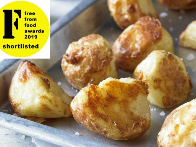 Farmer's Roasting Potatoes – shortlisted!