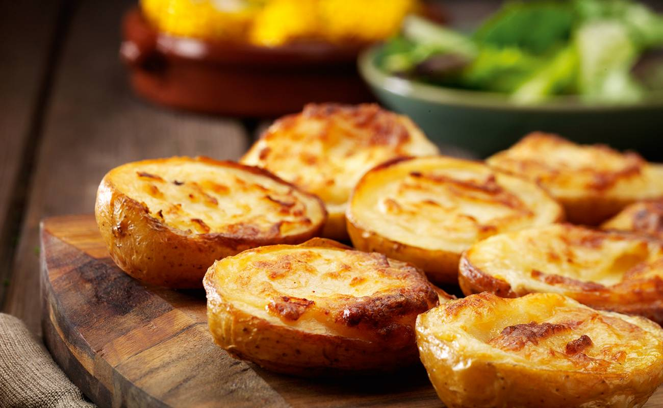 Cheese & Onion Potato Skins