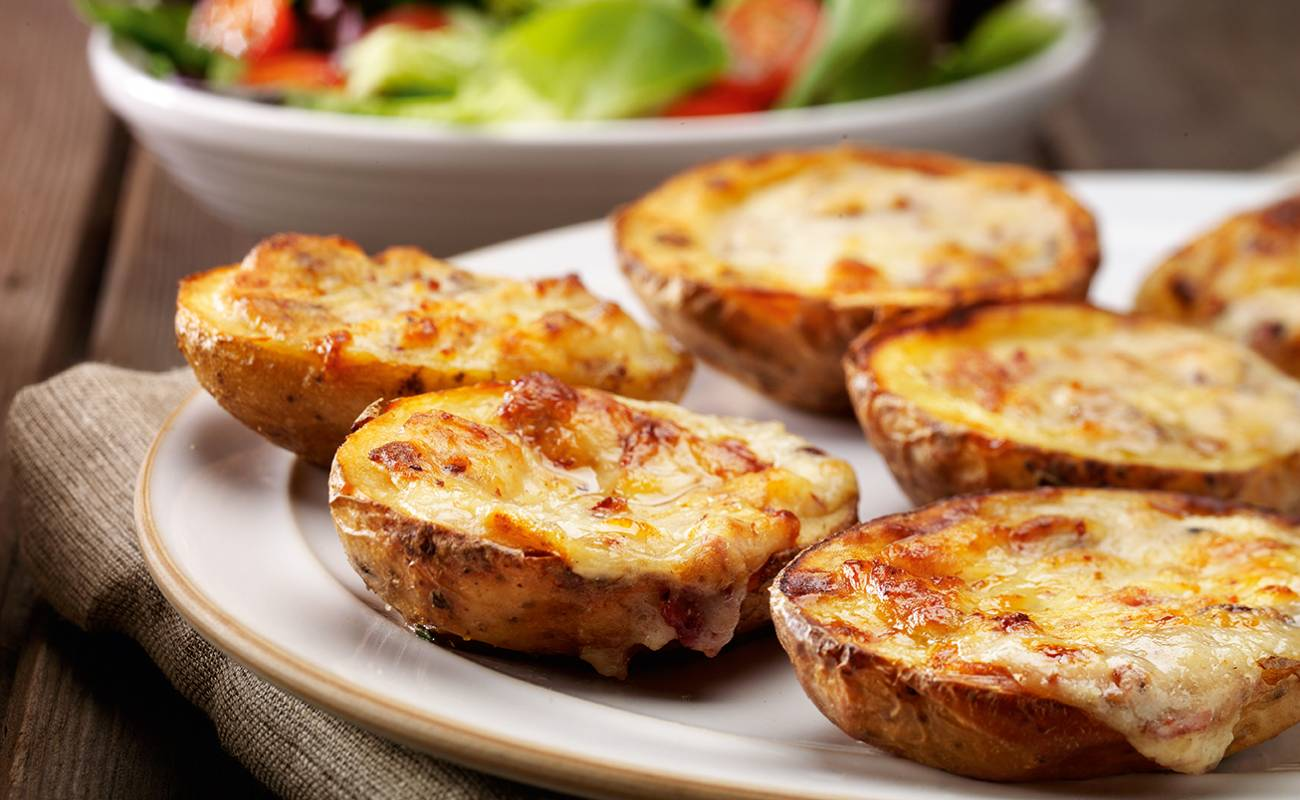 Cheese & Bacon Potato Skins