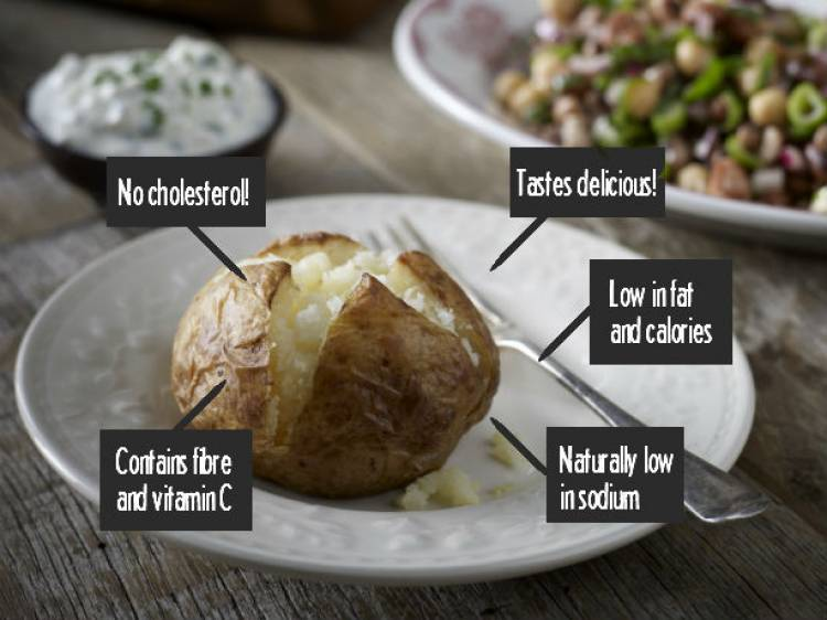 Why baked potatoes should be part of your 2017 healthy