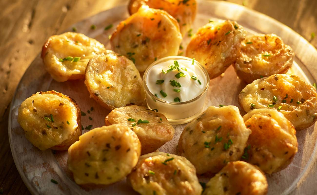 Cheese & Chive Mini Potato Skins