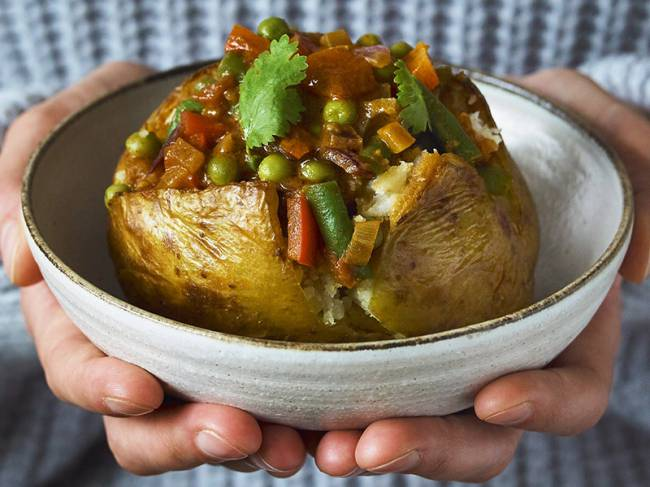Top recipe ideas for National Vegetarian Week